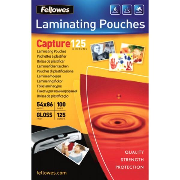 Capture - pouches in poliestere, formato 60x90mm, spessore 125my