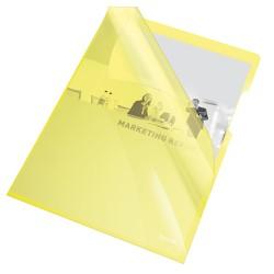 Cristal - cartelline a l colore giallo