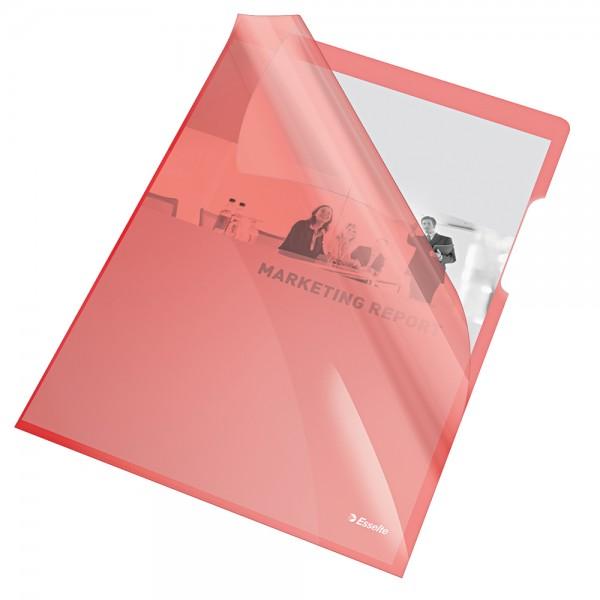 Cristal - cartelline a l colore rosso