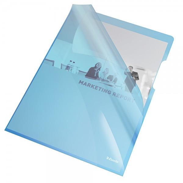 Cristal - cartelline a l colore blu