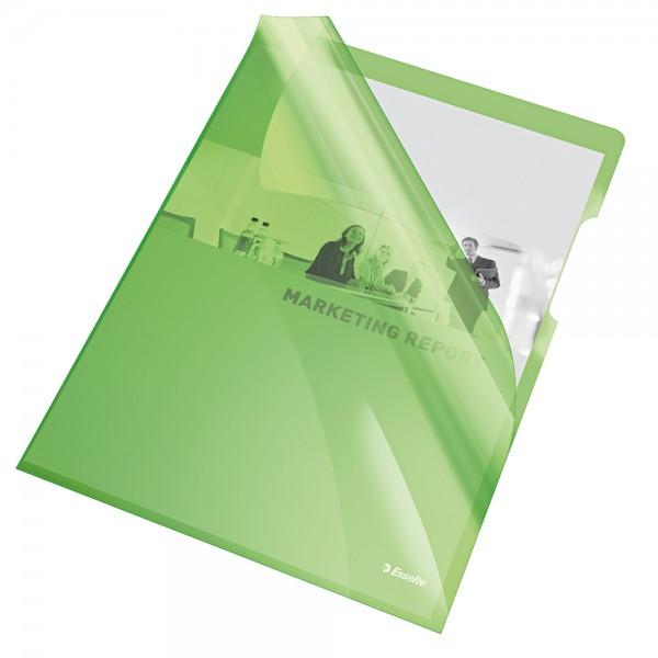 Cristal - cartelline a l colore verde