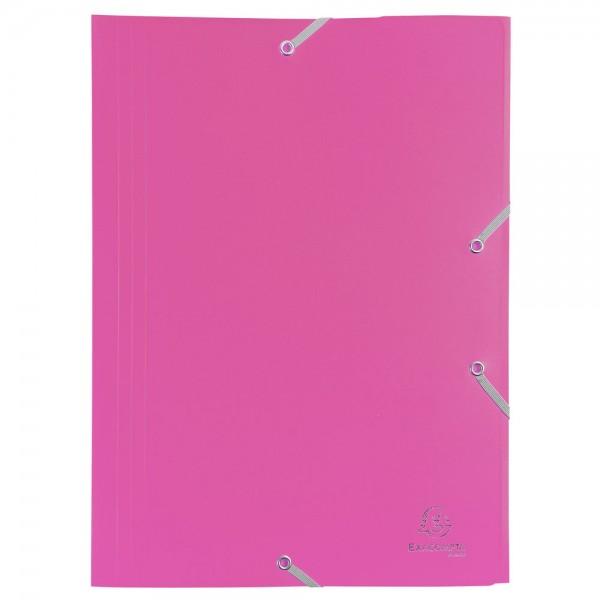 Cartellina con elastico colore fucsia