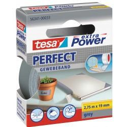Tesa perfect - nastro extra power grigio colore grigio
