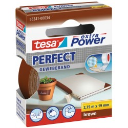 Tesa perfect - nastro extra power marrone colore marrone