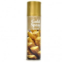 Bombola vernice spray oro 150ml