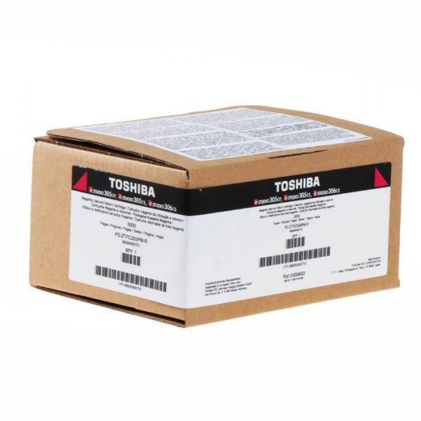 Toshiba 6b000000751 toner magenta colore magenta