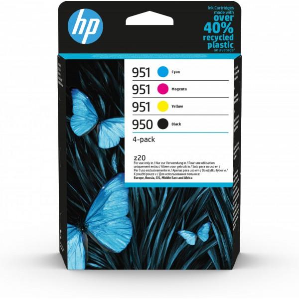 Hp 950 951 cartuccia multipack cmyk colore nero, ciano, magenta, giallo