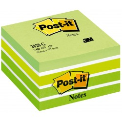 Blocco post-it 2028 g aquarelle  colore verde