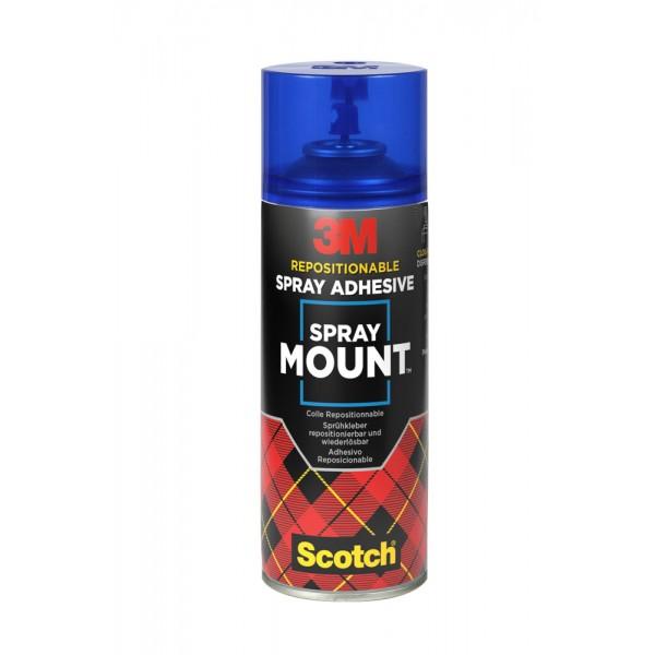 Spray adesivo spray mount riposizionabile 400ml