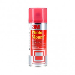 Photo mount  - adesivo spray alta qualita', trasparente