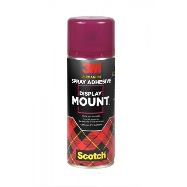 Spray adesivo display mount permanente 400ml