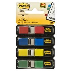 Segnapagina index 683 4  colore rosso,blu,giallo, verde
