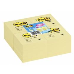 Blocco post-it 654 colore giallo canary