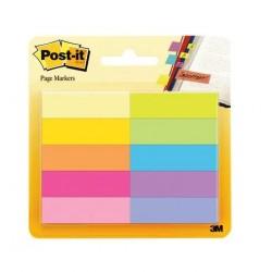 Segnapagina post-it 670 10 note marker  colore assortiti