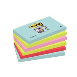 Blocco post-it 655 super sticky miami colore assortiti