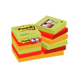 Blocco post-it 622 super sticky marrakesh colore assortiti