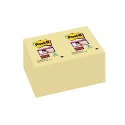Blocco post-it 656 super sticky  colore giallo canary