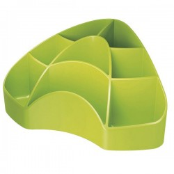 Portacancelleria multipot mydesk colore verde