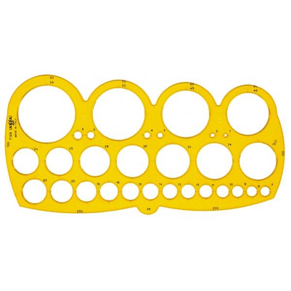 Maschera per cerchi   colore giallo