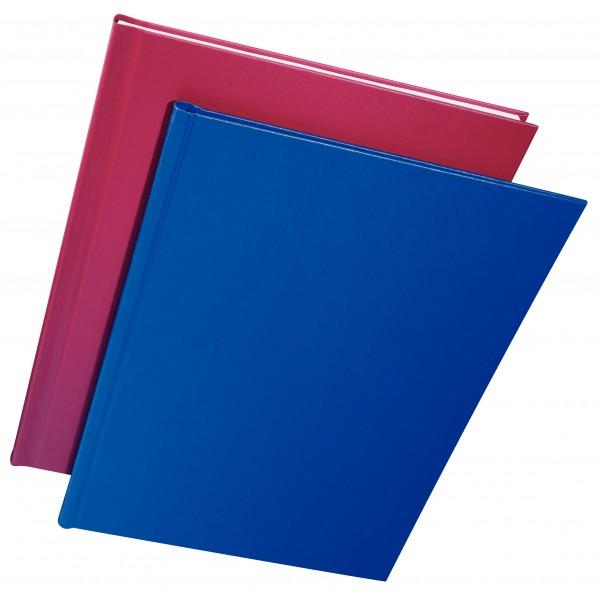 Copertina rigida per 105 fogli a4, dorso 10,5mm colore blu