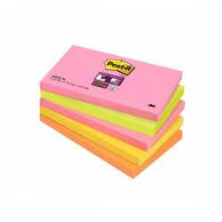 Foglietti post-it cape town super sticky colore assortiti