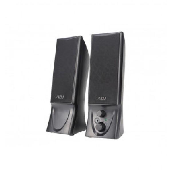 Adj slender speaker colore nero