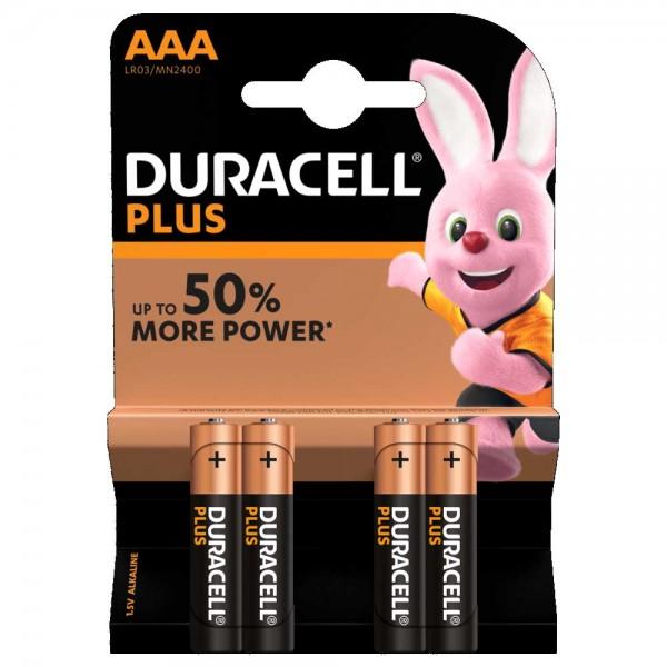 Blister 4pz duracell plus power ministilo