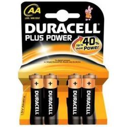 Blister 4pz duracell plus power stilo