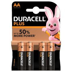 Blister 4pz duracell plus power stilo