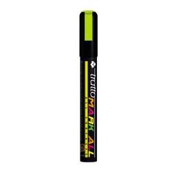 Marcatore tratto mark all colore giallo fluo colore giallo fluo tipo punta tonda