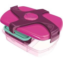 Porta vivande lunch box concept colore rosa