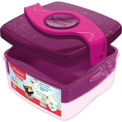 Porta vivande lunch box origins colore rosa