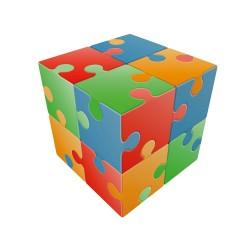 V-cube jigsaw
