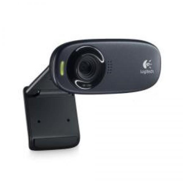 Logitech c310 webcam usb colore nero