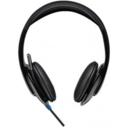 Logitech h540 cuffia con microfono colore nero, blu