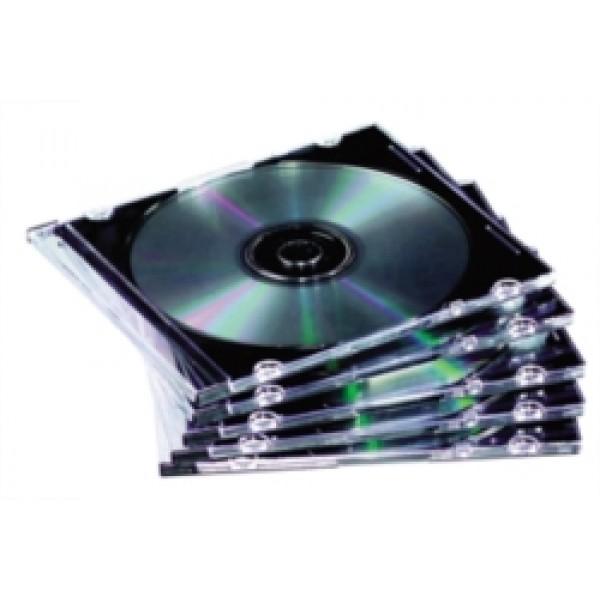 Custodia slim per cd colore trasparente