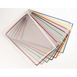 10 buste formato a4 pe leggio t-technic, colori assortiti - 1pz colore assortiti