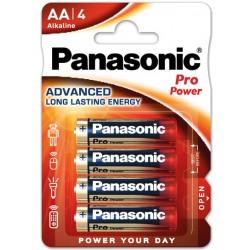 Batterie alcaline stilo pro power aa 1,5v