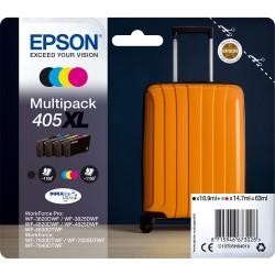Epson 405xl cartuccia multipack cmyk colore nero, ciano, magenta, giallo