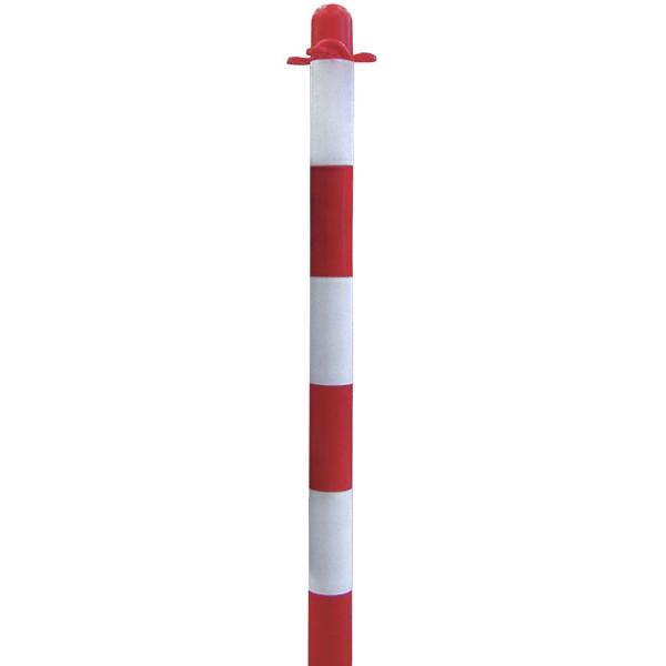Colonnina segnaletica bia/ros h90cm