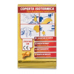 Pvs - coperta isotermica oro - argento