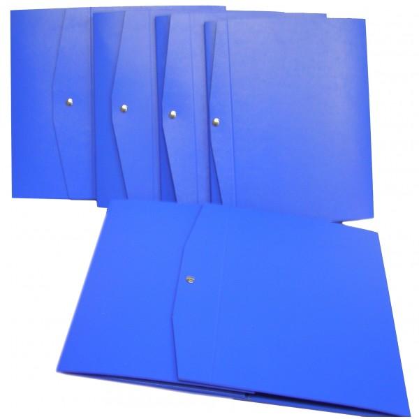 Cartella progetto d.8cm colore blu