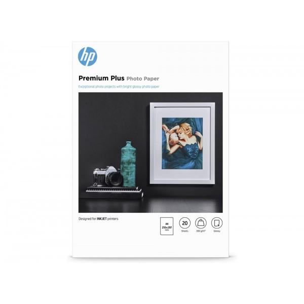 Cr672a carta fotografica lucida premium plus a4 (20fg) 300gr/m² - 1conf. grammatura 300gr