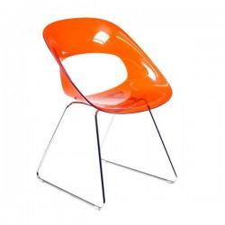 Crib c - seduta visitatore colore arancio