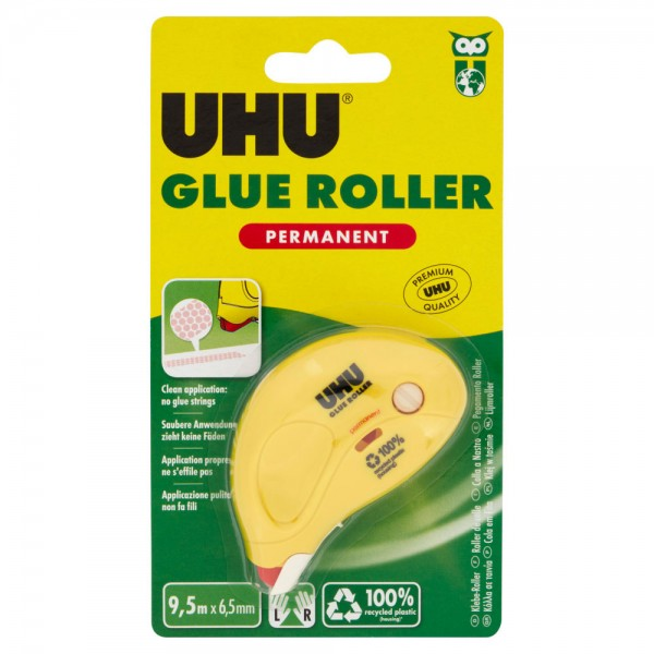 Uhu dry & clean - colla roller permanente