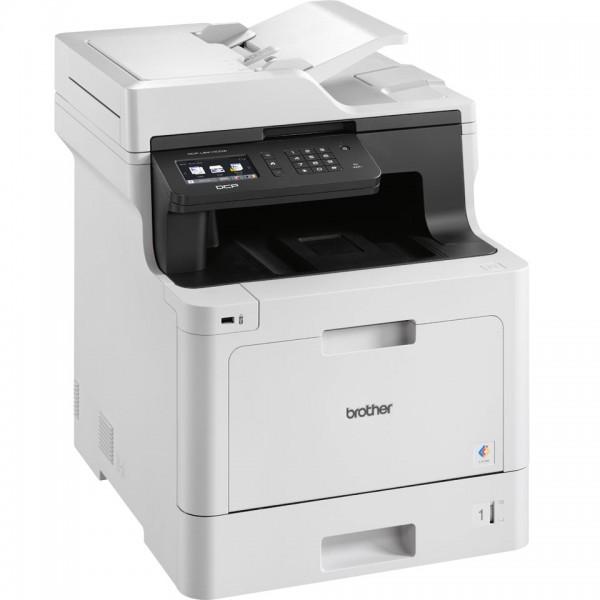 Brother dcpl8410cdw multifunzione laser a4 colore colore bianco/grigio colore colore