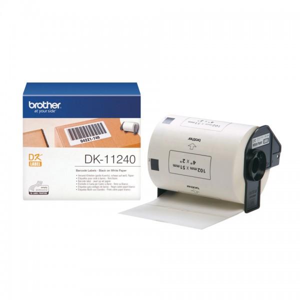 600 etichette adesive in carta colore nero su bianco