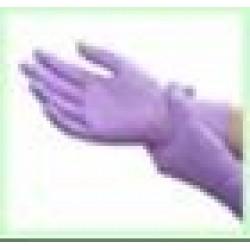 Guanti in nitrile - taglia s colore violetto