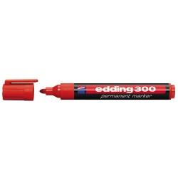 Marcatore permanente colore rosso tipo punta conica