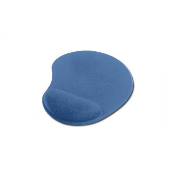Tappetino per mouse con poggiapolso in gel colore blu colore blu